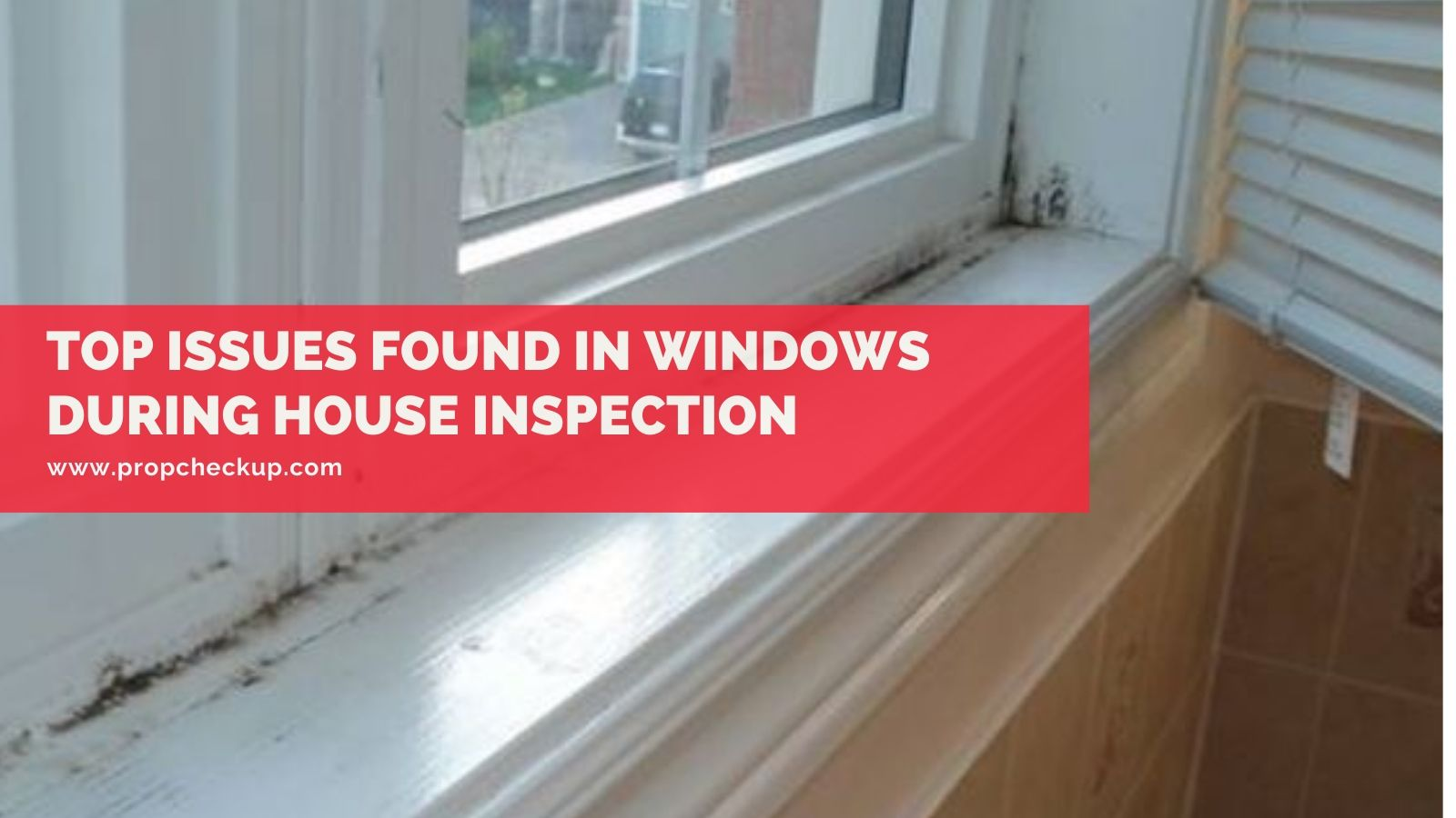 Top Issues Found in Windows During House Inspection
