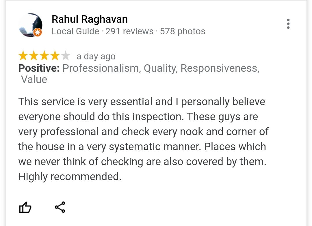 Home Inspection at wadhwa Atmosphere